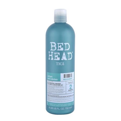 Tigi Urban Antidotes Recovery Shampoo 750ml - shampooing restructurant niveau 2