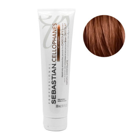 Sebastian Cellophanes Chocolate Brown Masque Réfléchissant 300ml