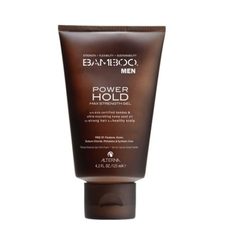 Alterna Bamboo Men Power hold max strength gel 125ml - gel à tenue extrême