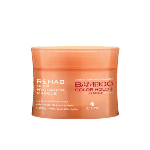 Alterna Bamboo Color Hold UV shield Rehab deep hydration masque 142gr - masque pour cheveux colores