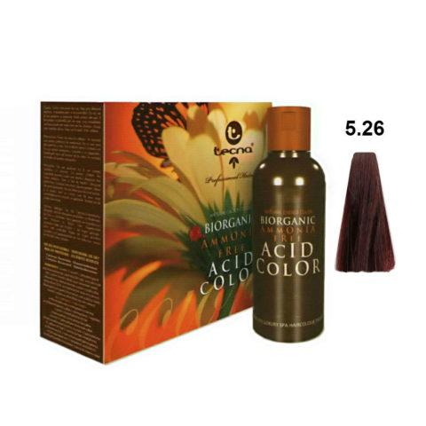 5.26 Aubergine  Tecna NCC Biorganic acid color 3x130ml