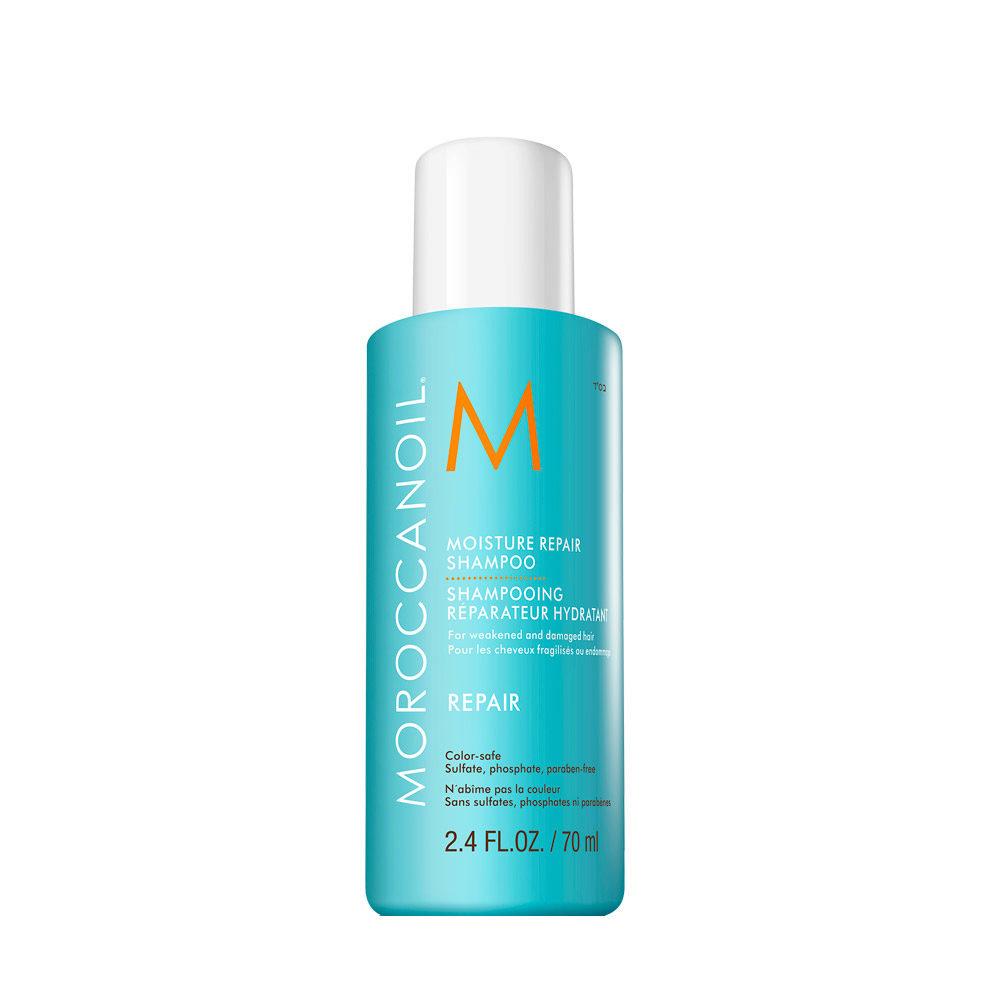 Moroccanoil Moisture repair shampoo 70ml - shampooing reparateur hydratant