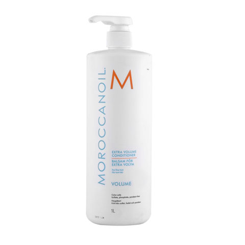 Moroccanoil Extra volume conditioner 1000ml - apres shampooing extra volume