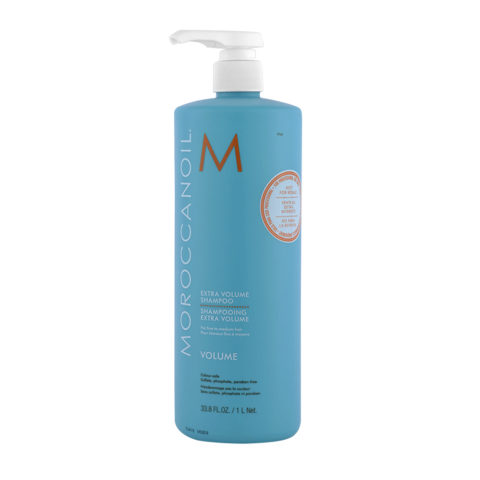 Moroccanoil Extra volume Shampooing Pour Cheveux Fins 1000ml