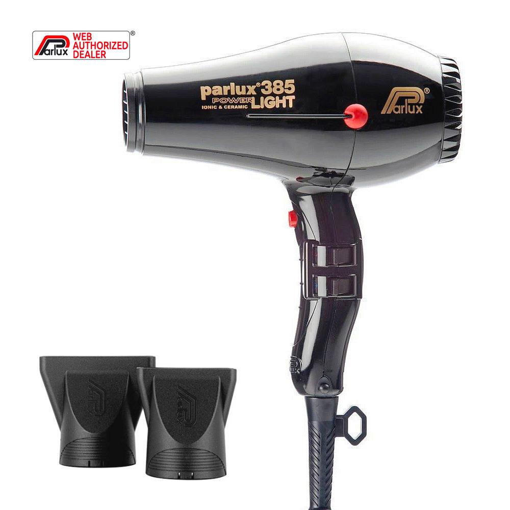 Parlux 385 Powerlight Ionic & Ceramic Noir - sèche-cheveux