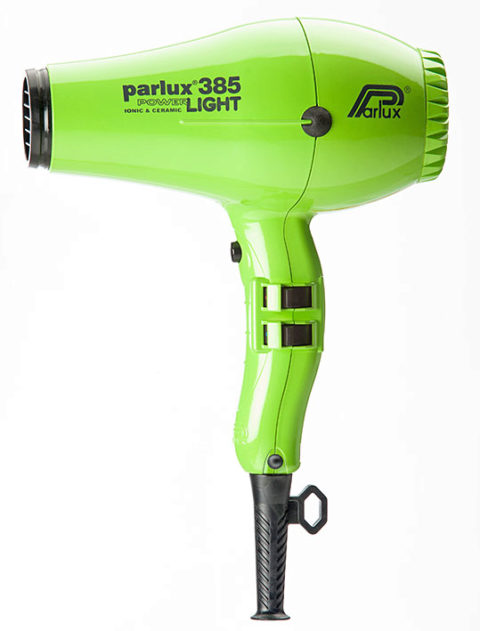 Parlux 385 Powerlight Ionic & Ceramic Verde
