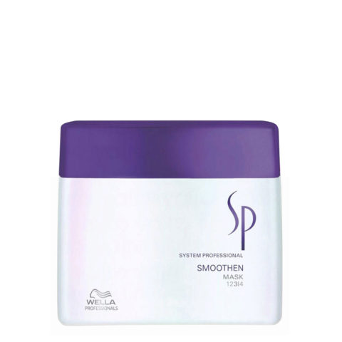 Wella System Professional Smoothen Mask 400ml - masque disciplinant et lissant intensif