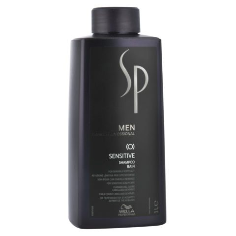 Wella System Professional Men Sensitive Shampoo 1000ml - shampooing soulageant