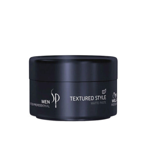 Wella System Professional Men Textured Style 75ml - pâte opaque