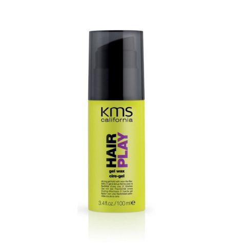 Kms california Hairplay Gel wax 100ml - gel crème de coiffage
