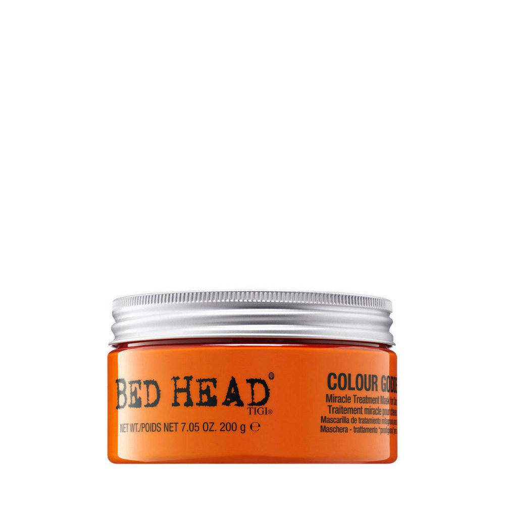 Tigi Bed Head Colour Goddess Miracle Treatment Mask 200gr - traitement miracle cheveux colorès