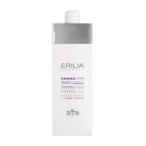 Erilia Kroma Care Bagno Luminosità Cosmeticità Profonda 750ml - shampooing pour cheveux colorés