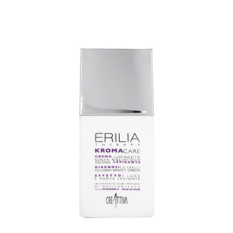 Erilia Kroma Care Crema Luminosità senza risciacquo azione levigante 150ml - crème pour les cheveux colorés