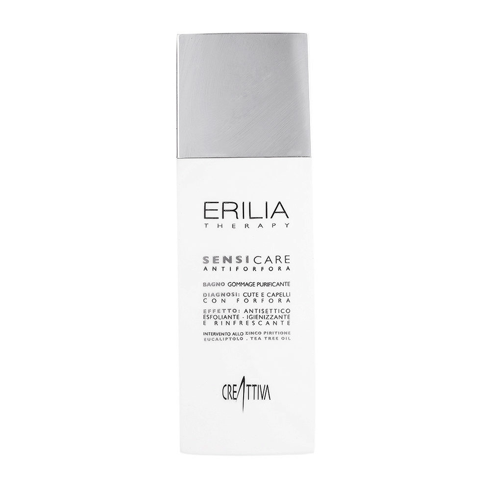 Erilia Sensicare Bagno Peeling Purificante 250ml - shampooing pellicules
