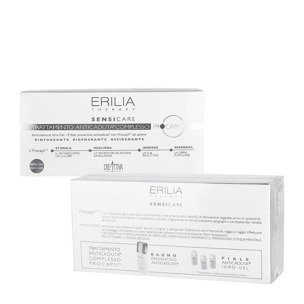 Erilia Sensicare Procapil Traitement Préventif anti-chute 10x8ml - Ampules