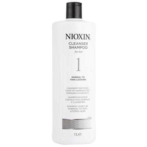 Nioxin Sistema1 Shampoo cleanser 1000ml