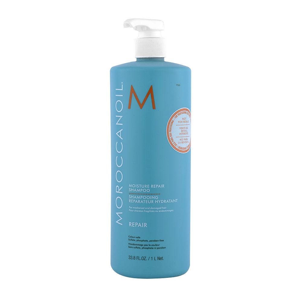 Moroccanoil Moisture repair shampoo 1000ml - shampooing reparateur hydratant