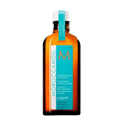 Moroccanoil Oil treatment light 100ml - Huile pour cheveux fins ou clairs