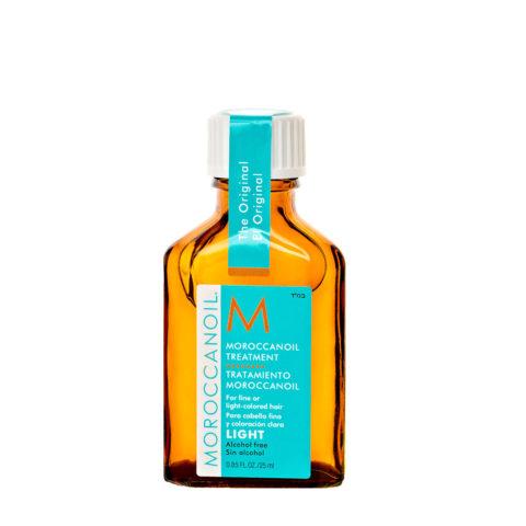 Moroccanoil Oil treatment light 25ml - Huile pour cheveux fins ou clairs