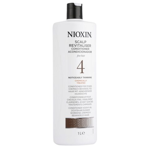 Nioxin Sistema4 Conditioner Scalp Revitaliser 1000ml