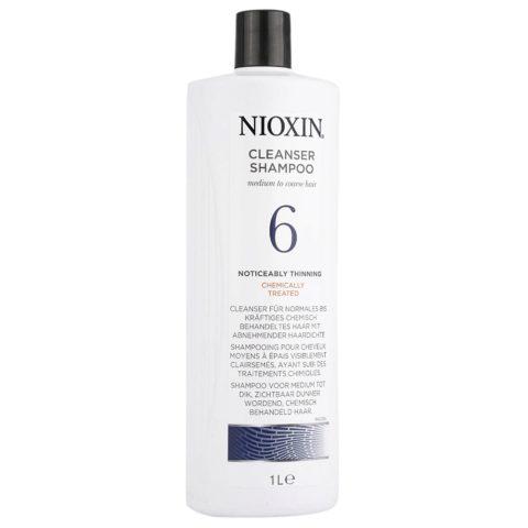 Nioxin Sistema6 Shampoo cleanser 1000ml