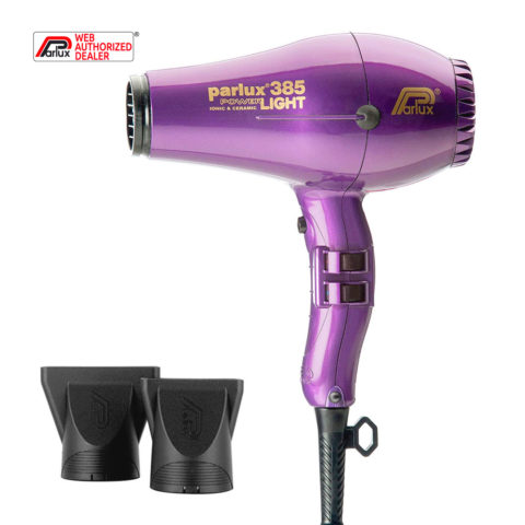 Parlux 385 Powerlight Ionic & Ceramic Viola - sèche-cheveux