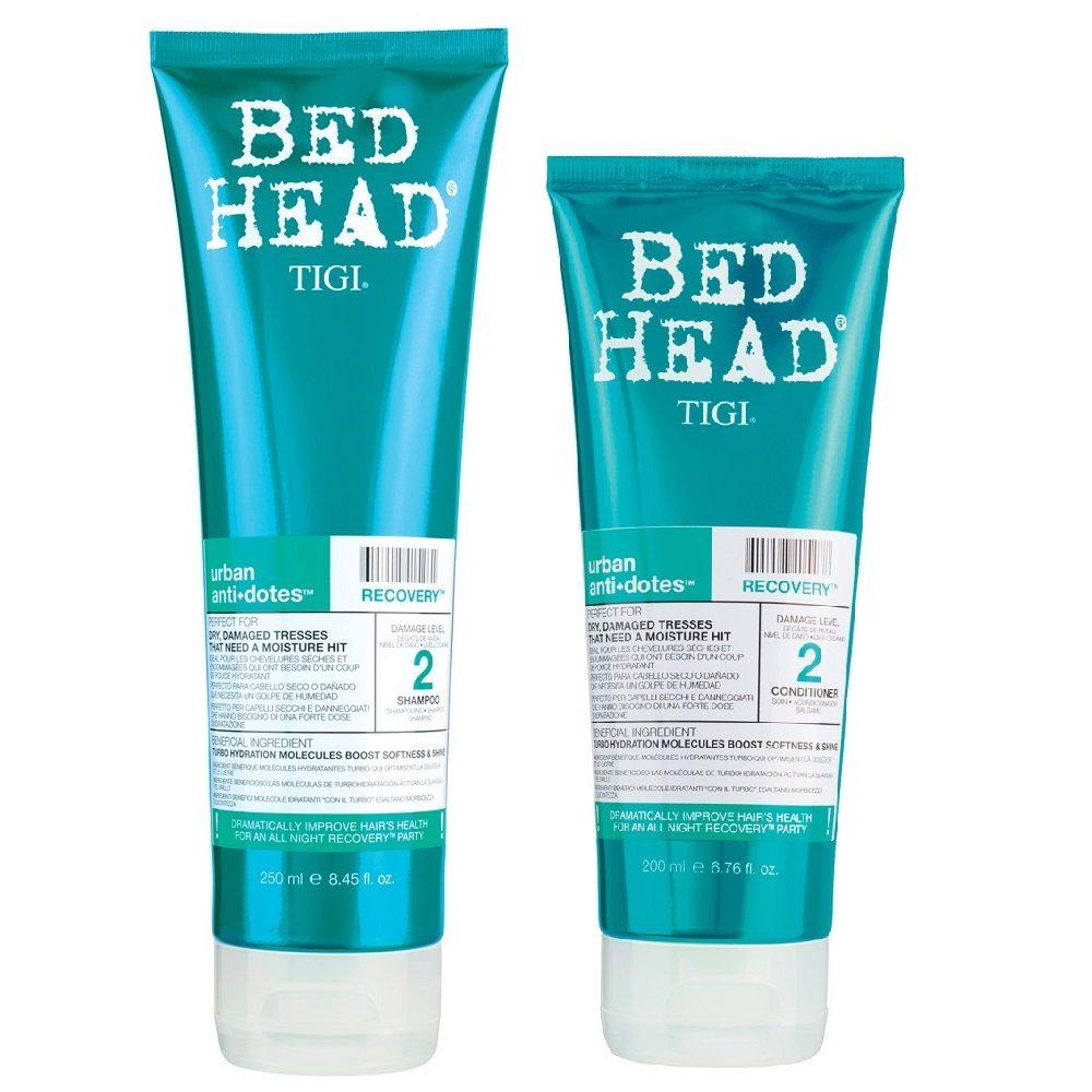 Tigi Urban Antidotes Kit Recovery Après-Shampooing 200ml Shampooing 250ml