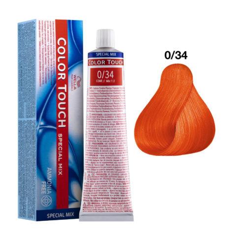 0/34 Doré-rouge Wella Color Touch Special mix sans ammoniaque 60ml
