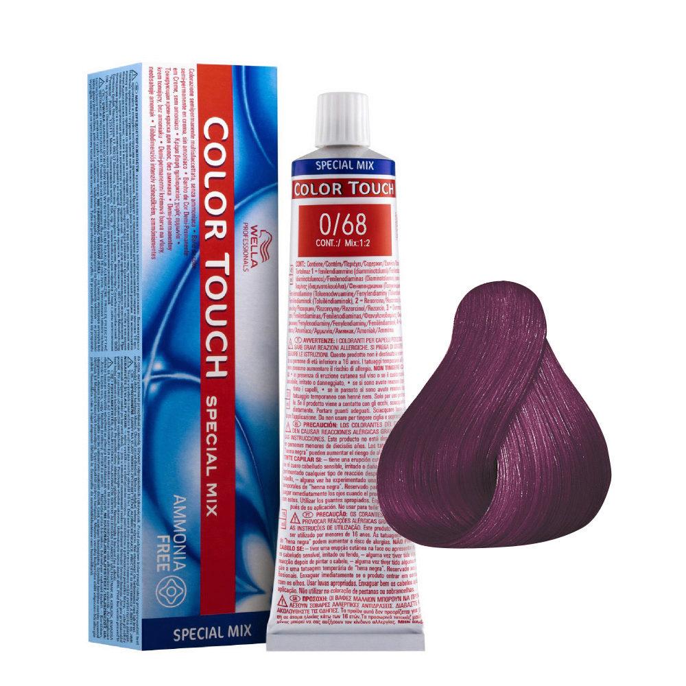 0/68 Violet-perle Wella Color Touch Special mix sans ammoniaque 60ml