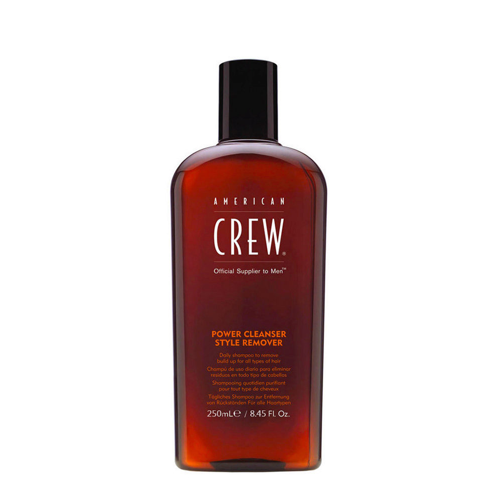 American crew Power cleanser style remover shampoo 250ml - shampooing quotidien