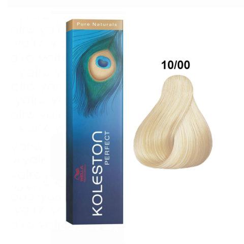 10/00 Blond platine naturel Wella Koleston Perfect Pure Naturals