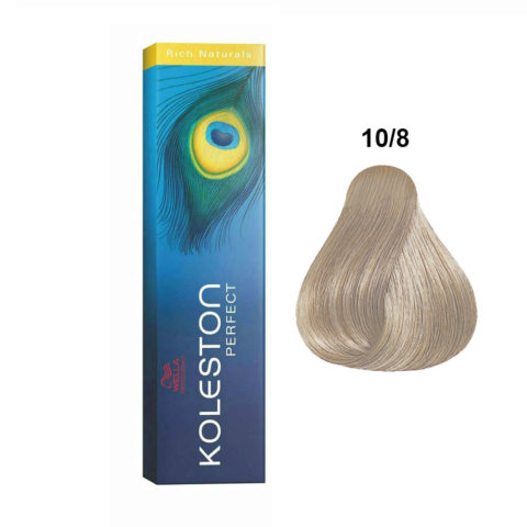10/8 Blond trés clair perle Wella Koleston Perfect Rich naturals 60ml