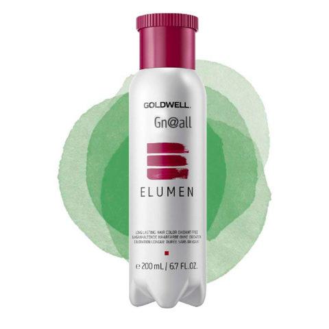 Goldwell Elumen Pure GN@ALL verde 200ml - vert