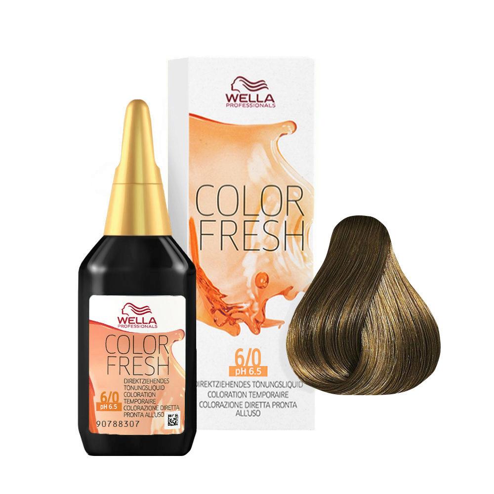 6/0 Blond foncé Wella Color fresh 75ml