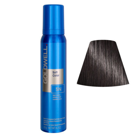 Goldwell Colorance soft color / Mousse colorante 5N Light Brown 125ml
