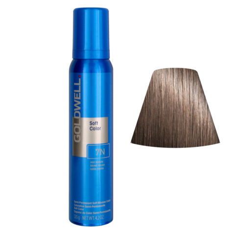 Goldwell Colorance soft color Coloration directe traitante en mousse 7N Mid Blonde 125ml