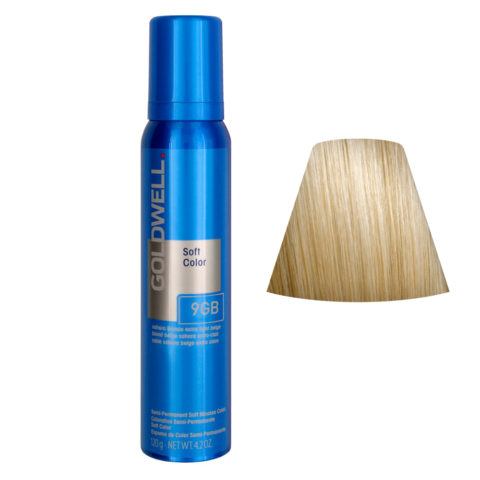 Goldwell Colorance soft color Coloration directe traitante en mousse 9GB Sahara Blonde Extra Light B