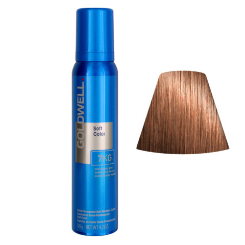 Goldwell Colorance soft color / Coloration directe traitante en mousse 7KG Mid Copper Gold 125ml