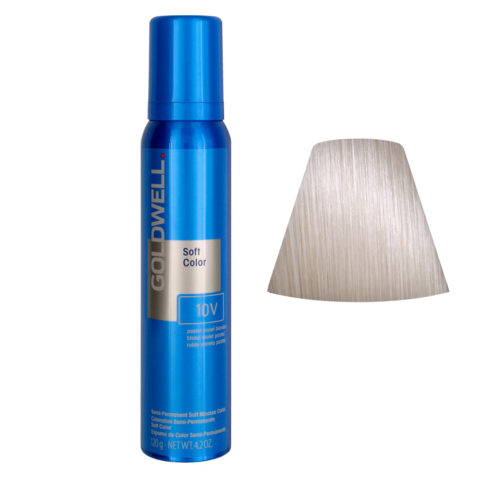 Goldwell Colorance soft color / Coloration directe traitante en mousse 10V Pastel Violet Blonde 125ml