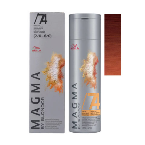 /74 Chatain rouge Wella Magma 120gr