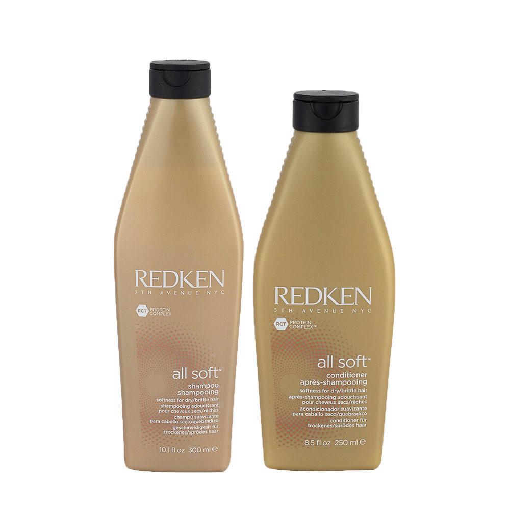 Redken Kit All soft Shampoo 300ml   Conditioner 250ml