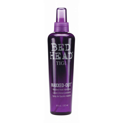 Tigi Bed Head Maxxed Out Hairspray 236ml - laque à tenue puissante