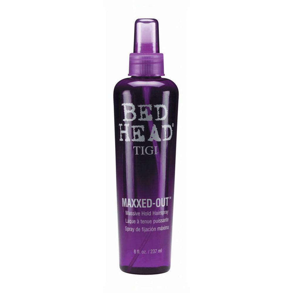 Tigi Bed Head Maxxed Out Hairspray 236ml - laque à tenue puissante