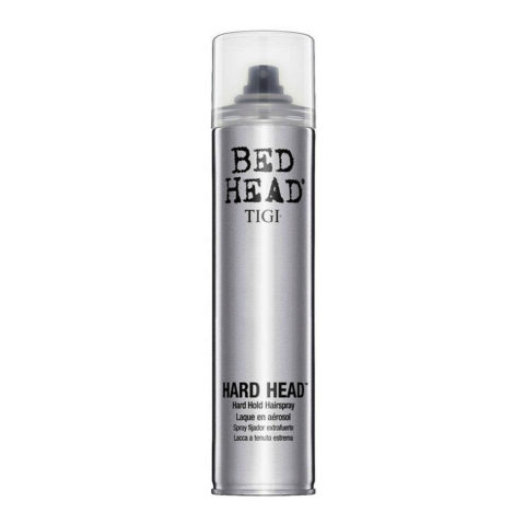 Tigi Bed Head Hard Head Hairspray 385ml - laque extra fort