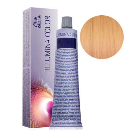 8/05 Blond Clair Naturel Acajou Wella Illumina Color 60ml