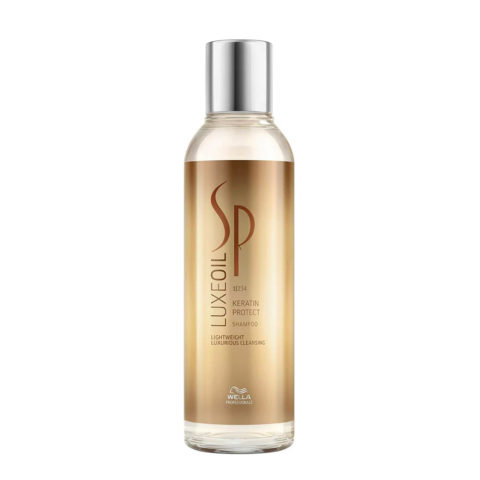 Wella System Professional Luxe Oil Keratine protect shampoo 200ml - shampooing à la Keratine