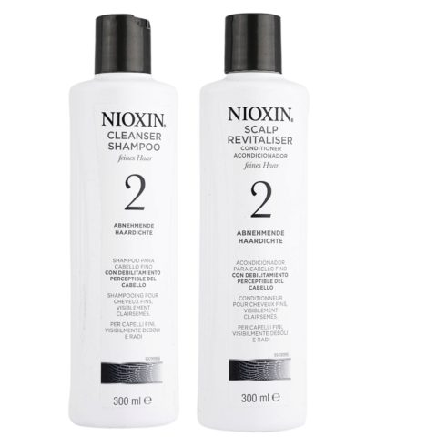 Nioxin Sistema2 Kit Shampoo Cleanser 300ml e Conditioner 300ml