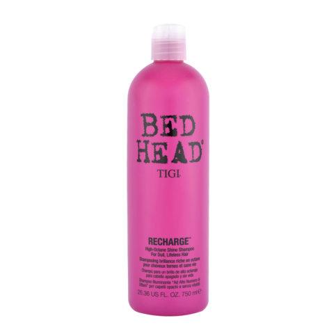 Tigi Bed Head Recharge Shampoo 750ml - shampooing brillance riche en octane
