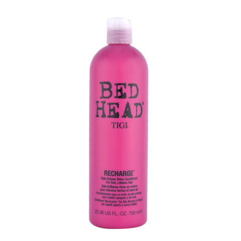 Tigi Bed Head Recharge Conditioner 750ml - après-shampooing brillance riche en octane
