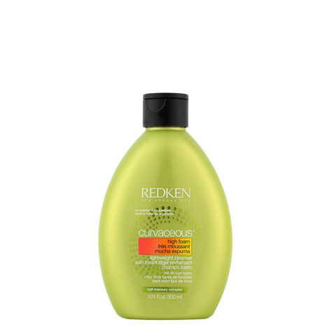 Redken Curvaceous High-foam Lightweight cleanser Shampoo 300ml